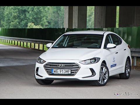 Nowy Hyundai Elantra 1.6 CRDI 7 DCT 2016 test PL