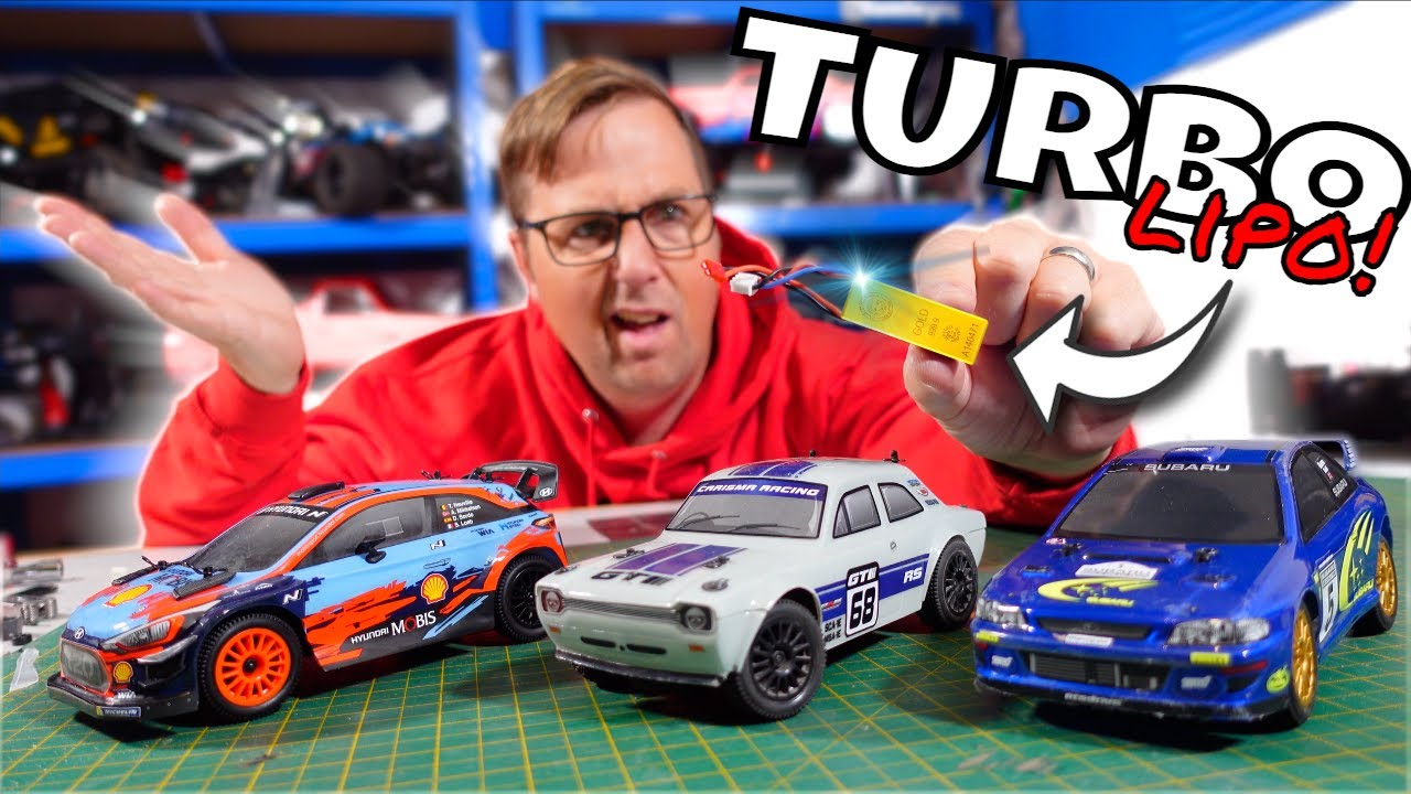 A $10 Battery Doubled the Speed of my RC Car! Carisma GT24