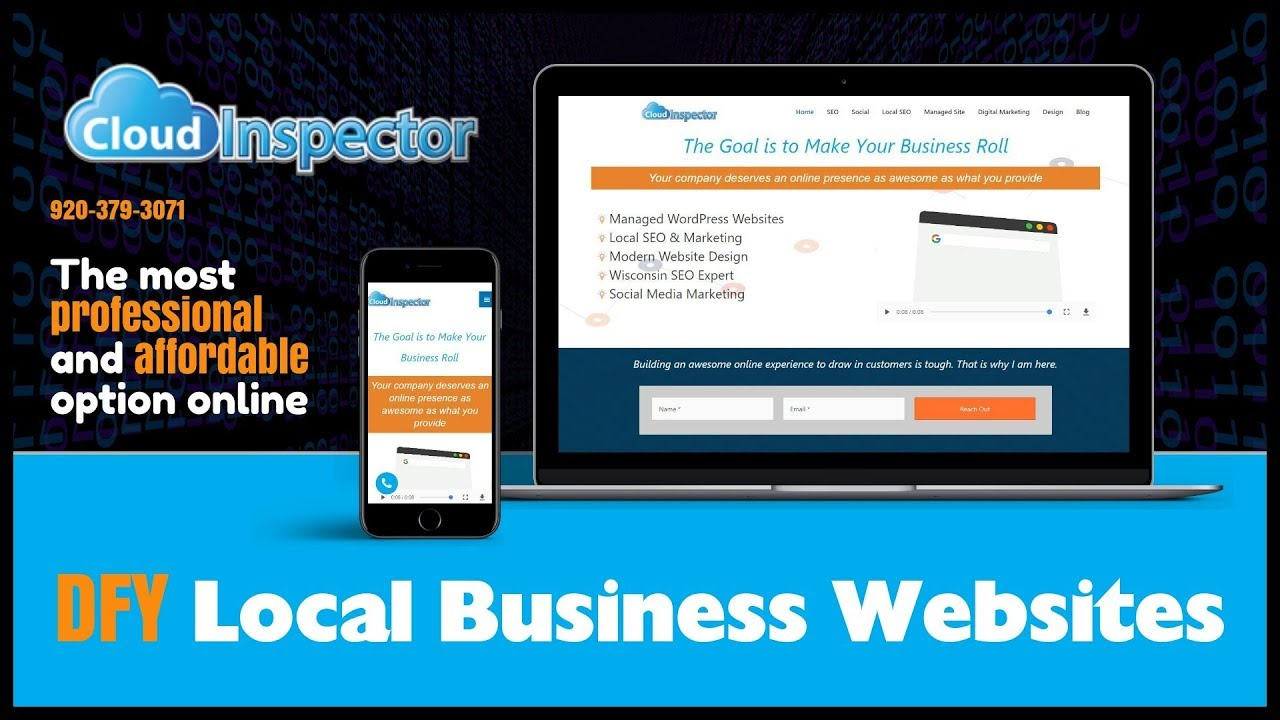 Done For You Local Business Websites - Cloud Inspector Web Design ...