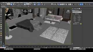Les 7 For Bed Room Ultra Modren Using 3d Max And Vray