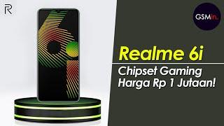 Pake Chipset Gaming Cuma 2JUTAAN Aja!!! Realme 6i Resmi Dirilis | Spesifikasi Dan Harga Indonesia.