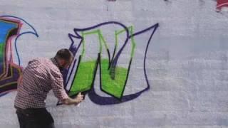 How to Draw an N | Graffiti