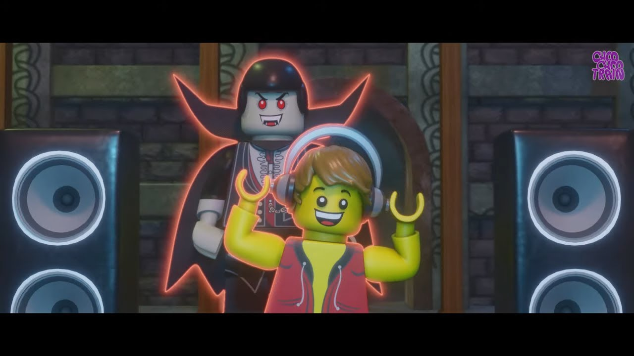 #Lego Movie - Dance Party with scooby - Choo Choo Train