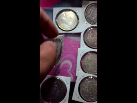 Straits settlement silver coin