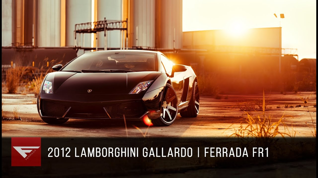 2015 lamborghini gallardo | ferrada wheels fr1 - youtube