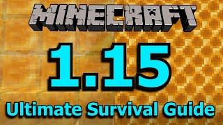 Minecraft 1.15: The Ultimate Survival Guide
