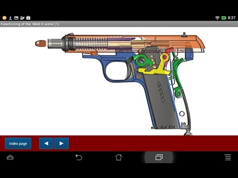French MAB D pistol explained - Android APP - HLebooks.com