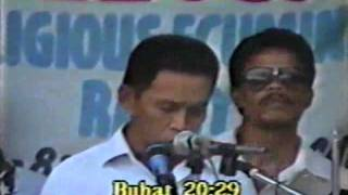 Socrates Fernandez (CFD) vs Laureano Bacus & Oseas Kilongkilong (SDA) 4