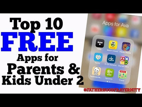 Top 10 FREE Apps For Parents And Kids Under 2 Years Old | 2018