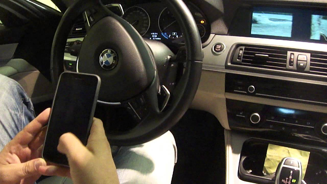 Bmw f10 f01 f30 f15 e60 e90 iphone 6 airplay telefon t kr z s www bmwtuning hu