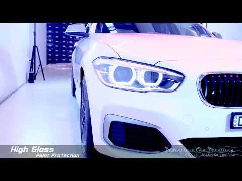 BMW M140i Alpine White Definitive Sydney Liquid Glass Ceramic Coating High Gloss Paint Protection Tr