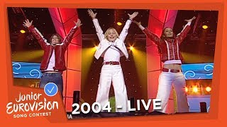 Martina Siljanovska - Zabava - F.Y.R. Macedonia - 2004 Junior Eurovision Song Contest
