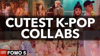 Top 5 Cutest Male & Female K-pop Collabs • Fomo 5