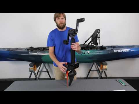 Wilderness Systems Helix PD™ Pedal Drive  -  Assembly and Installation