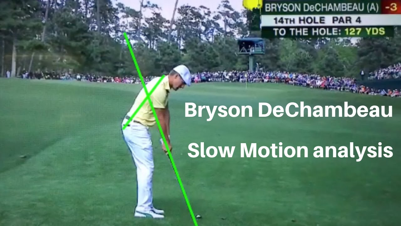 Image result for bryson dechambeau swing