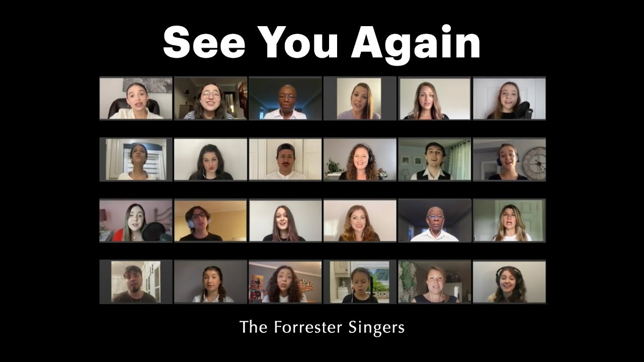 See You Again (cover) by The Forrester Singers