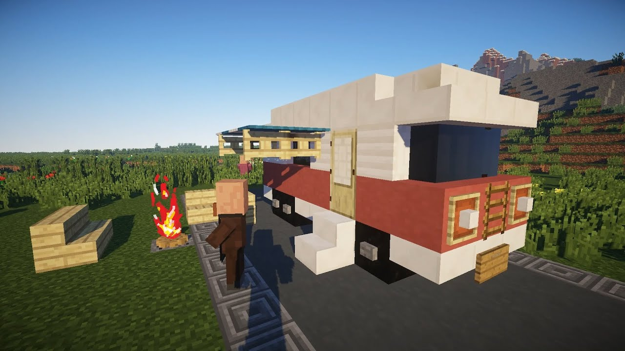 Майнкрафт как сделать дом на колесах фото 767
