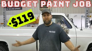 Budget Build! $119 PAINT JOB For My Old Chevy Truck