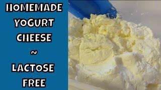 Homemade Yogurt Cheese ~ Lactose Free ~ SCD Legal