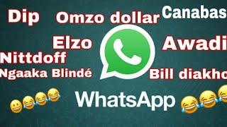 Clash ! Le groupe whatsapp humoristique des rappeurs par Mame Balla Mbow