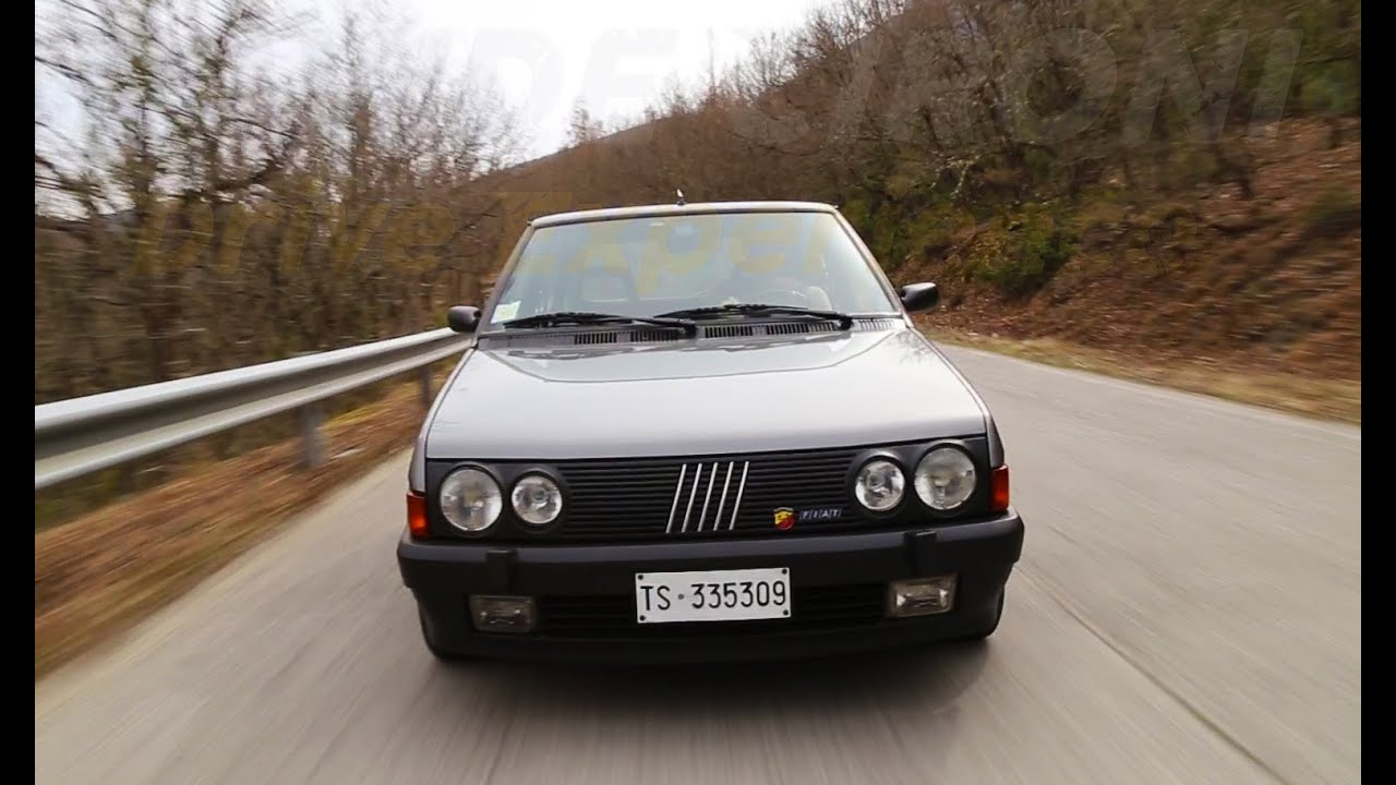 pure sound fiat ritmo abarth 130 tc - davide cironi drive