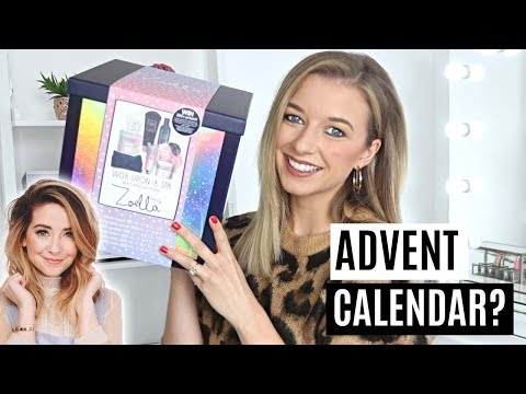 ZOELLA CHRISTMAS PRODUCTS 2018 | ADVENT CALENDAR?