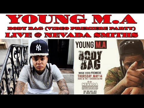 YOUNG M.A - BODY BAG VIDEO PREMIERE...