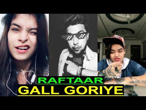 Gall Goriye On Tiktok   Raftaar Challenge Accepted   Hum Aashiq Hain Tab Hi Jhuk Rahy Hain