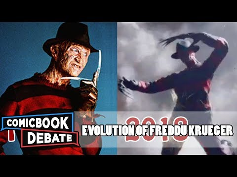 Evolution of Freddy Krueger in Movies & TV in 9 Minutes (2017)