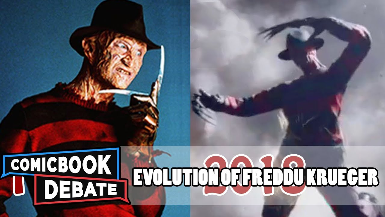 evolution of freddy krueger in movies amp tv in 9 minutes