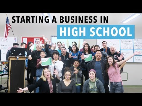 How To Start A Business As A Teenager | Is It Possible To Start A Business While In High School?