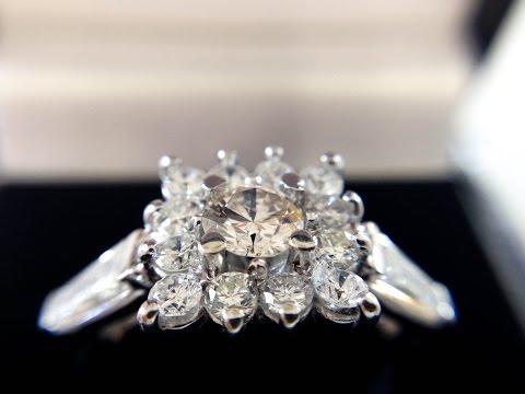 The Stars on Her Finger: Making a White Gold Diamond Ring