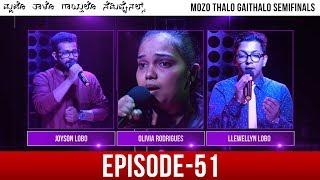 Mozo Thalo Gaithalo - Semi Final Round│Episode 51│Daijiworld Television