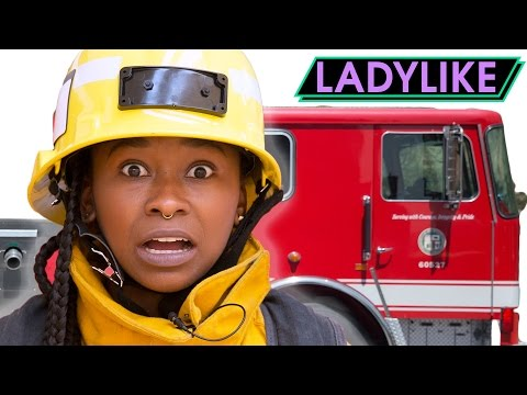 Thumbnail: Women Train To Become Firefighters For A Day • Ladylike