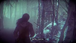 Lost in the creepy woods - Rise of the Tomb Raider
