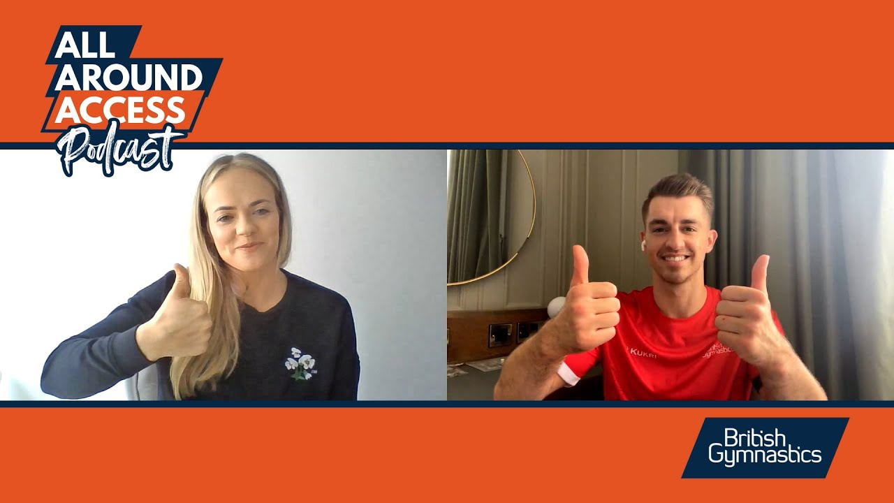 All Around Access Podcast - Olympic special with Max Whitlock MBE
