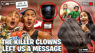 THE KILLER CLOWNS LEFT US A MESSAGE & MAGIC MOVED INTO MY HOUSE!