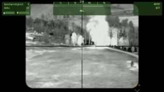AH 1 Cobra FLIR attack Part 1 ArmA 2