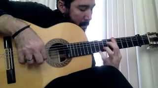 Flamenco Tremolo Exercise - 9 (Plaza Alta by Paco de Lucia)
