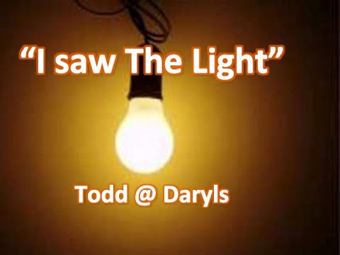 """I Saw the Light""  Daryl & Todd at Todds House in Hawaii"