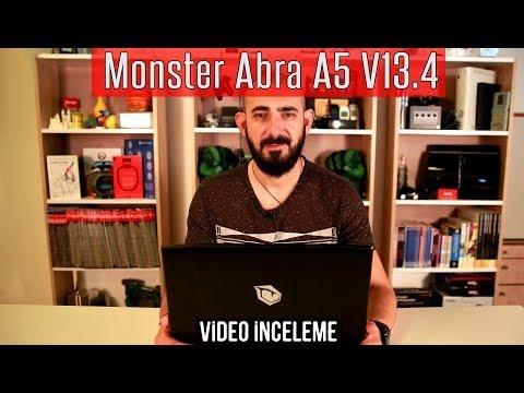 Monster Abra A5 V13 4 İncelemesi - Oyuncu Dizüstü PC