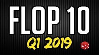 Flop 10 ∙ Q1/ 2019 ∙ Meine persönlichen größten spielerischen Enttäuschungen