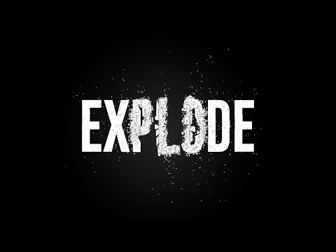 After Effects Tutorial - Explode Text in After Effects - No Plugins