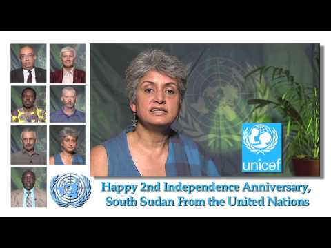 INDEPENDENCE DAY MESSAGES FROM THE UNITED NATIONS AGENCIES