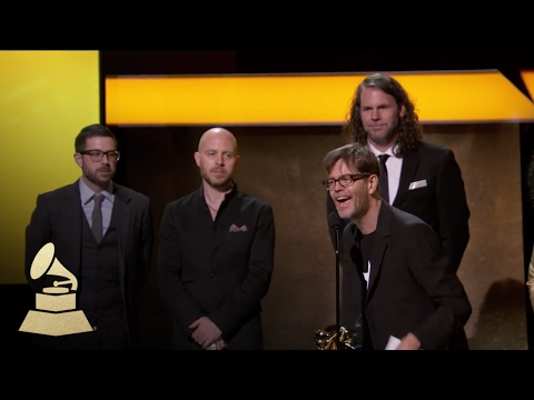 Donny McCaslin Accepts on Behalf of David Bowie | Acceptance Speech | 59th GRAMMYs