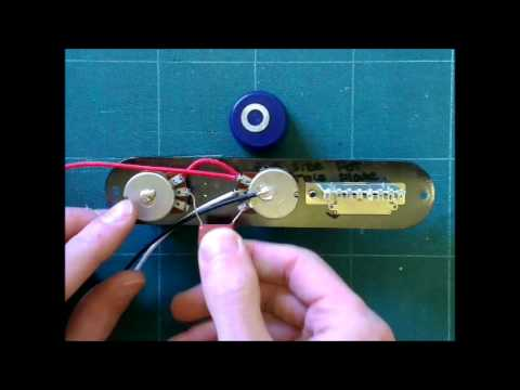 Squier Stratocaster Wiring Diagram Bt Junction Box Standard Telecaster Harness Youtube