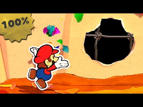 Chestnut Valley 100% Collectibles Guide - Paper Mario: The Origami King