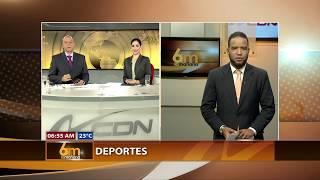 SECCIÓN DEPORTES 6 AM EN LA MAÑANA POR CDN 37 Y CDN RADIO 92.5 FM