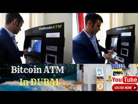 BITCOIN ATM's in  saudi arabia streets...!