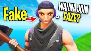 I Met a FAKE FaZe Member and 1v1d Him.. (He Recruited me To Faze)
